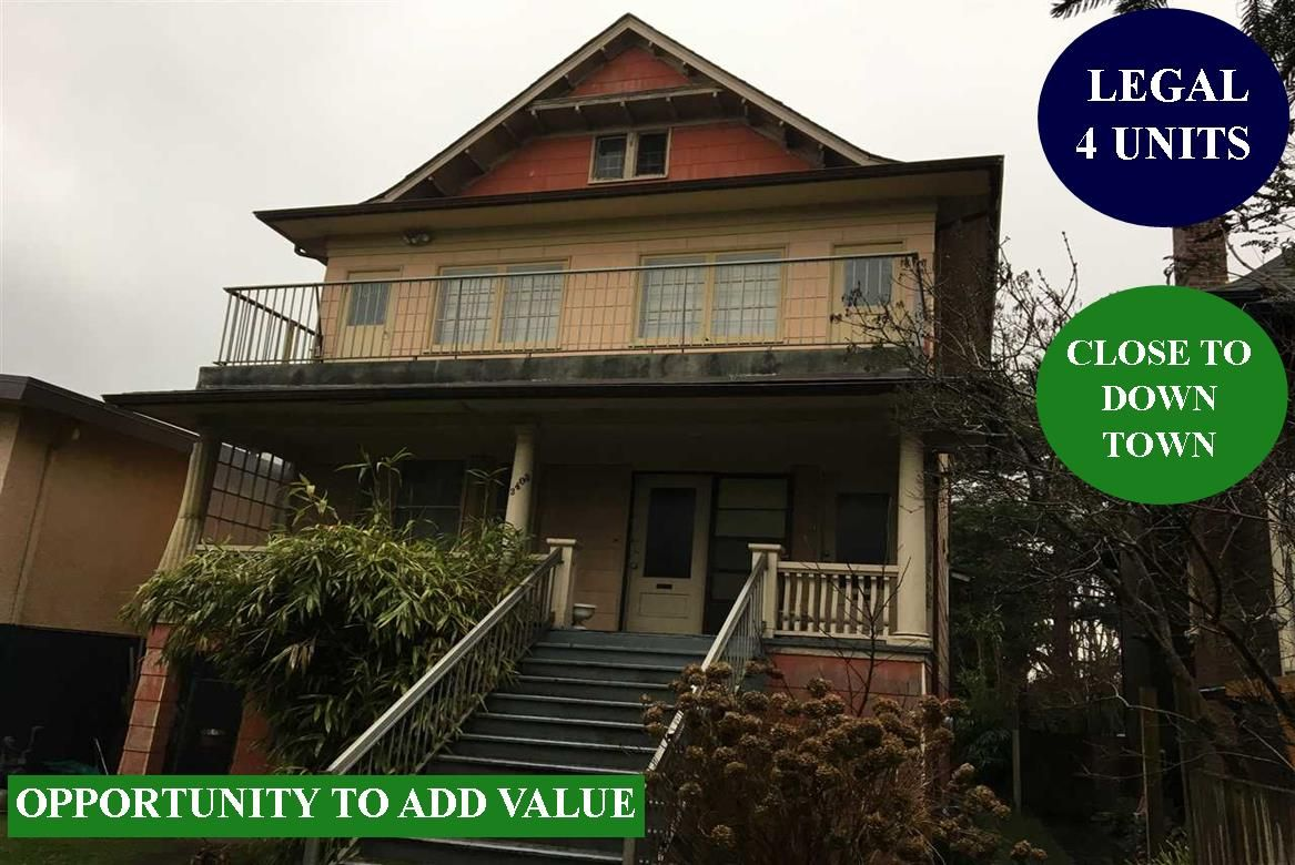 Main Photo: 2403 CAMBRIDGE STREET in Vancouver: Hastings Sunrise House for sale (Vancouver East)  : MLS®# R2338346