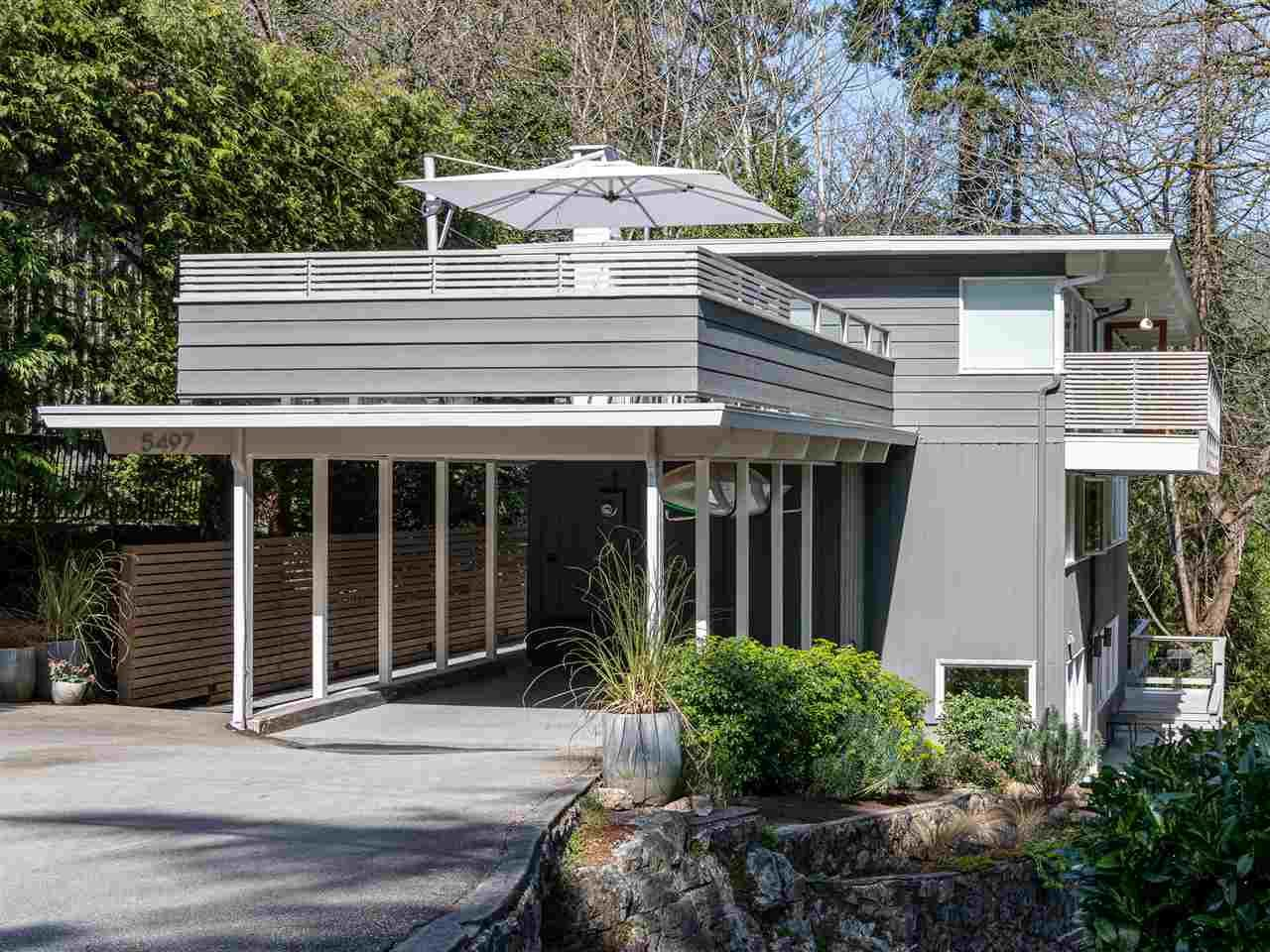Main Photo: 5497 GREENLEAF Road in West Vancouver: Eagle Harbour House for sale : MLS®# R2559924
