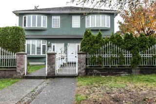 Photo 1: 8491 SHAUGHNESSY Street in Vancouver: Marpole 1/2 Duplex for sale (Vancouver West)  : MLS®# R2120215