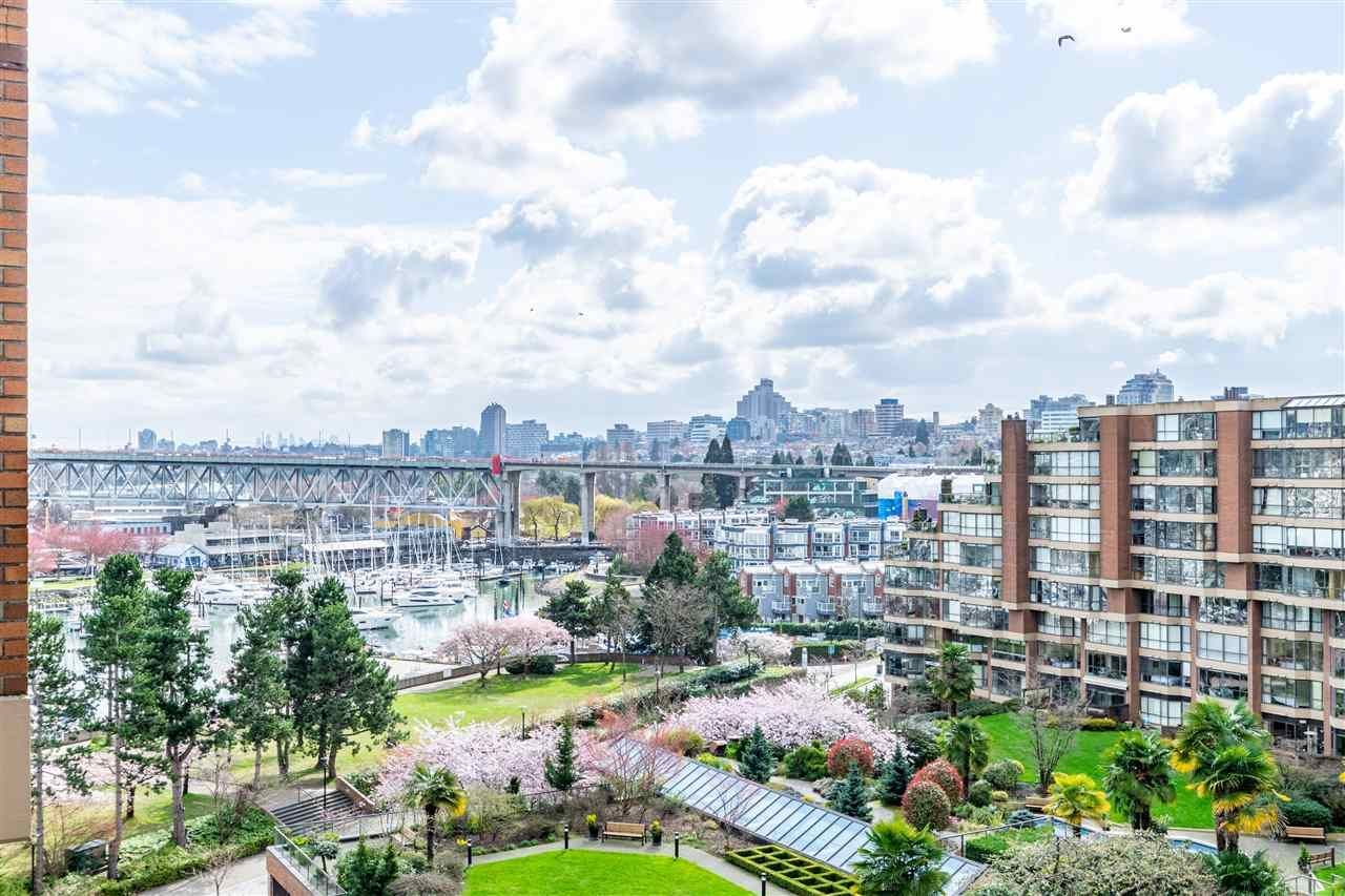 """Main Photo: 704 1450 PENNYFARTHING Drive in Vancouver: False Creek Condo for sale in """"HARBOUR COVE"""" (Vancouver West)  : MLS®# R2594220"""