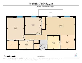 Photo 28: 203 510 58 Avenue SW in Calgary: Windsor Park Apartment for sale : MLS®# A1129465