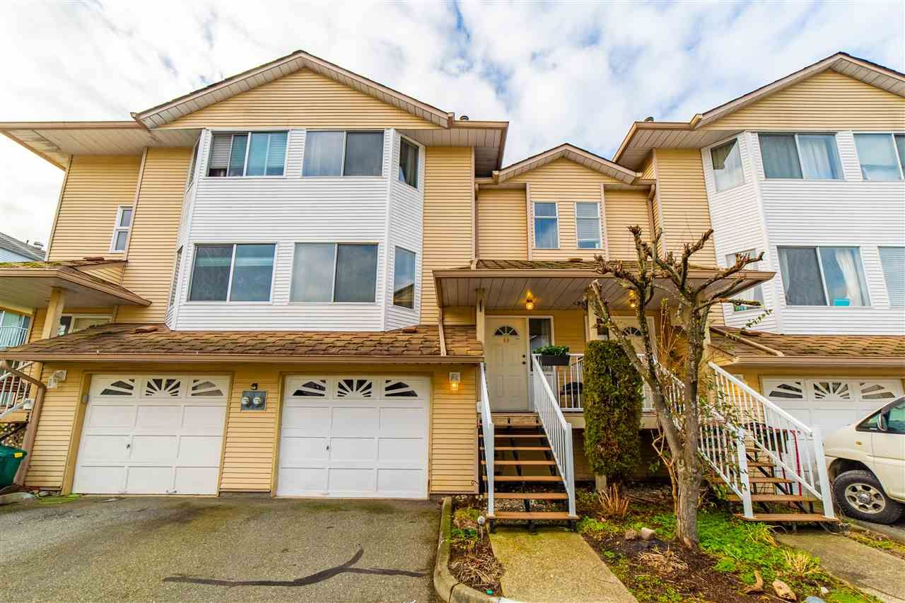 "Main Photo: 40 3087 IMMEL Road in Abbotsford: Central Abbotsford Townhouse for sale in ""Clayburn Estates"" : MLS®# R2534077"