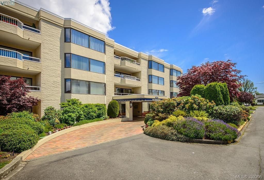 Main Photo: 205 1370 Beach Dr in VICTORIA: OB South Oak Bay Condo for sale (Oak Bay)  : MLS®# 675292