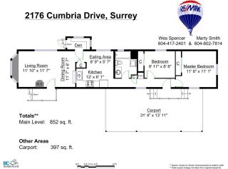"Photo 20: 2176 CUMBRIA Drive in Surrey: King George Corridor Manufactured Home for sale in ""Cranley Place"" (South Surrey White Rock)  : MLS®# R2150263"