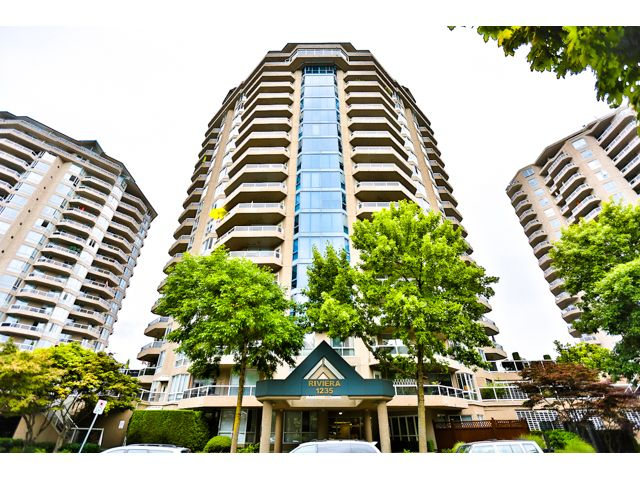 """Main Photo: 904 1235 QUAYSIDE Drive in New Westminster: Quay Condo for sale in """"THE RIVIERA"""" : MLS®# V1139039"""