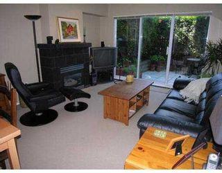 """Photo 2: 6 3160 W 4TH AV in Vancouver: Kitsilano Townhouse for sale in """"AVANTI"""" (Vancouver West)  : MLS®# V543093"""