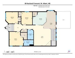 Photo 40: 69 Haviland Crescent: St. Albert House for sale : MLS®# E4227066