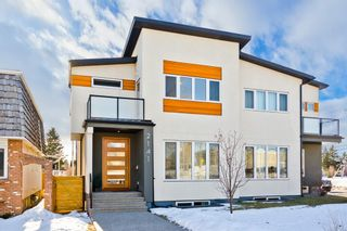 Main Photo: 2141 52 Avenue SW in Calgary: North Glenmore Park Semi Detached for sale : MLS®# A1062265