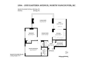 """Photo 27: 1504 1555 EASTERN Avenue in North Vancouver: Central Lonsdale Condo for sale in """"The Sovereign"""" : MLS®# R2594870"""