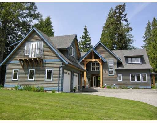 Main Photo: 1106 SUNNYSIDE Road in Gibsons: Gibsons & Area House for sale (Sunshine Coast)  : MLS®# V644175