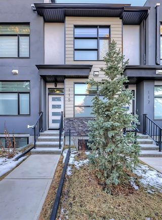 Photo 3: 105 408 27 Avenue NE in Calgary: Winston Heights/Mountview Row/Townhouse for sale : MLS®# A1089624