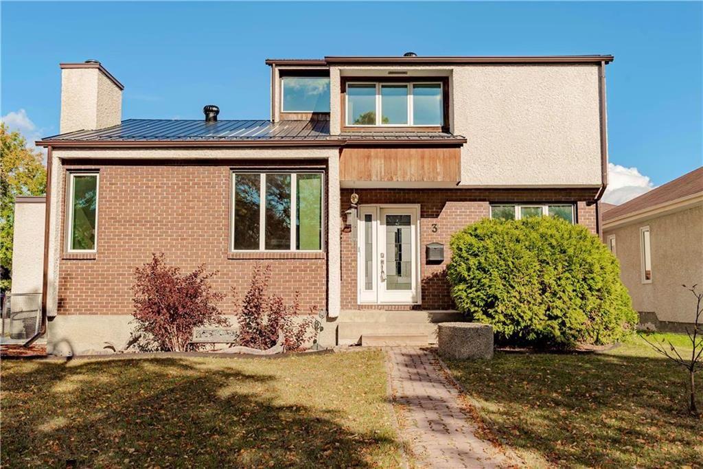 Main Photo: 3 Appelmans Bay in Winnipeg: Meadowood Residential for sale (2E)  : MLS®# 202024842