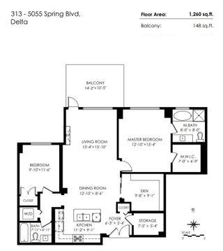Photo 17: 313 5055 SPRINGS BOULEVARD in Delta: Tsawwassen North Condo for sale (Tsawwassen)  : MLS®# R2466000