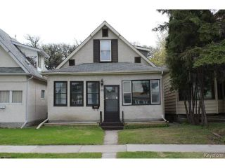 Photo 1: 155 Roseberry Street in WINNIPEG: St James Residential for sale (West Winnipeg)  : MLS®# 1512189