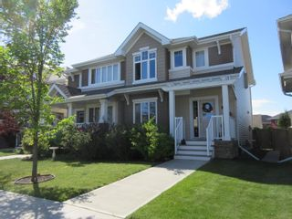 Main Photo: 1376 STARLING Drive in Edmonton: Zone 59 House Half Duplex for sale : MLS®# E4261958