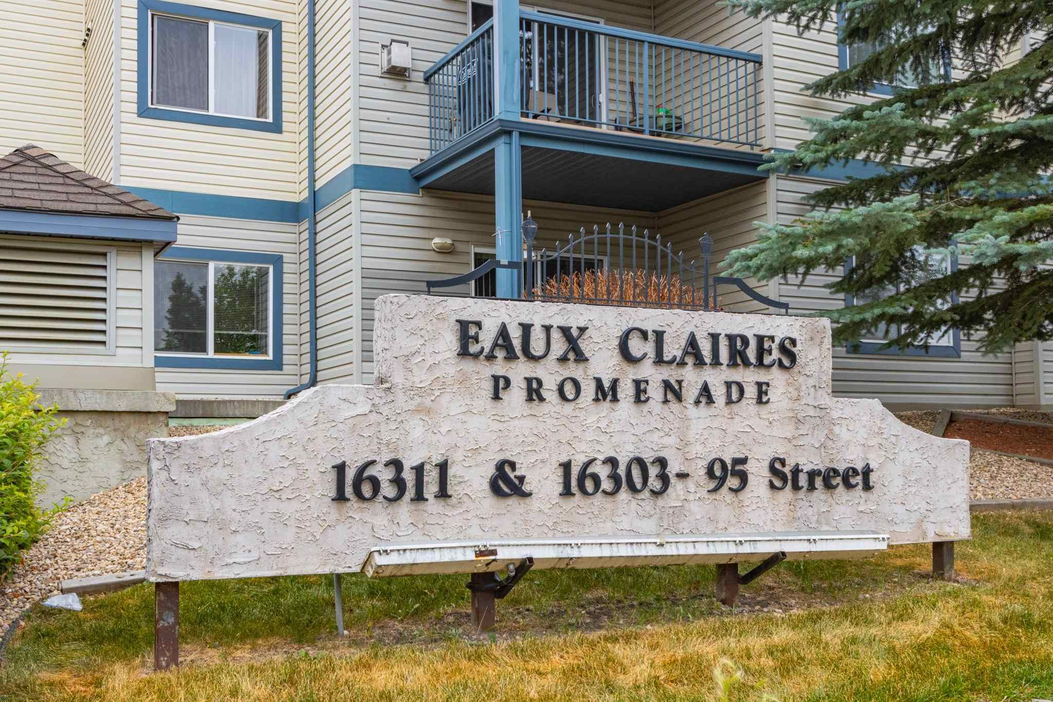 Main Photo: 121 16303 95 Street in Edmonton: Zone 28 Condo for sale : MLS®# E4255638