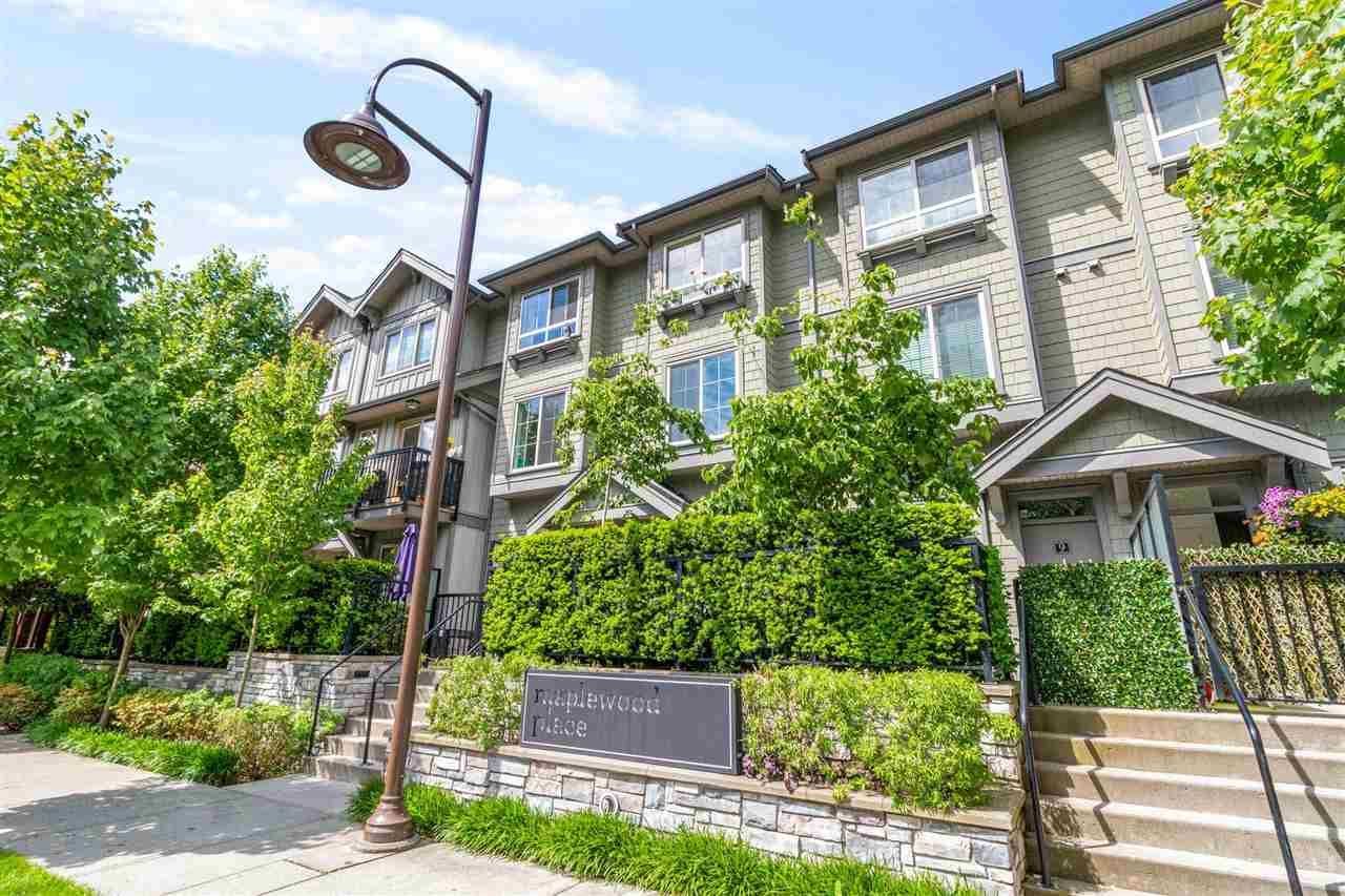 Main Photo: 18 433 SEYMOUR RIVER PLACE in North Vancouver: Seymour NV Townhouse for sale : MLS®# R2585787