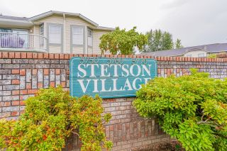 """Photo 1: 22 5750 174 Street in Surrey: Cloverdale BC Townhouse for sale in """"STETSON VILLAGE"""" (Cloverdale)  : MLS®# R2616395"""