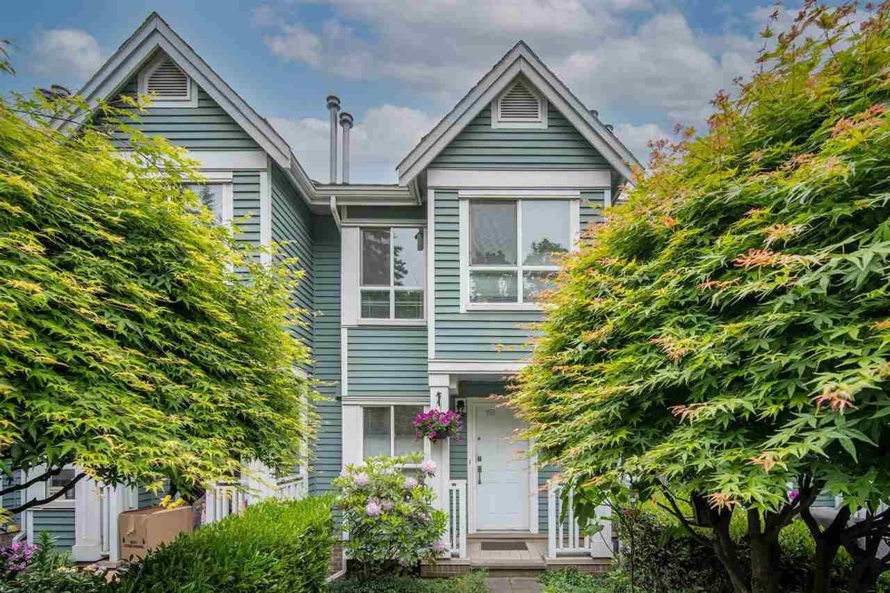 """Main Photo: 2887 SOTAO Avenue in Vancouver: South Marine Townhouse for sale in """"FRASERVIEW TERRACE"""" (Vancouver East)  : MLS®# R2587446"""