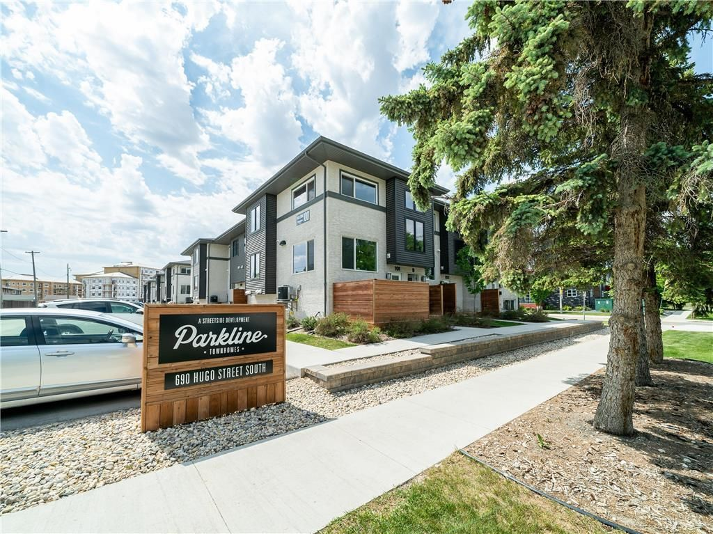 Welcome to Parkline Townhomes at 690 Hugo Street South!