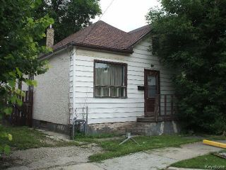 Photo 1: 367 Magnus Avenue in WINNIPEG: North End Residential for sale (North West Winnipeg)  : MLS®# 1519816