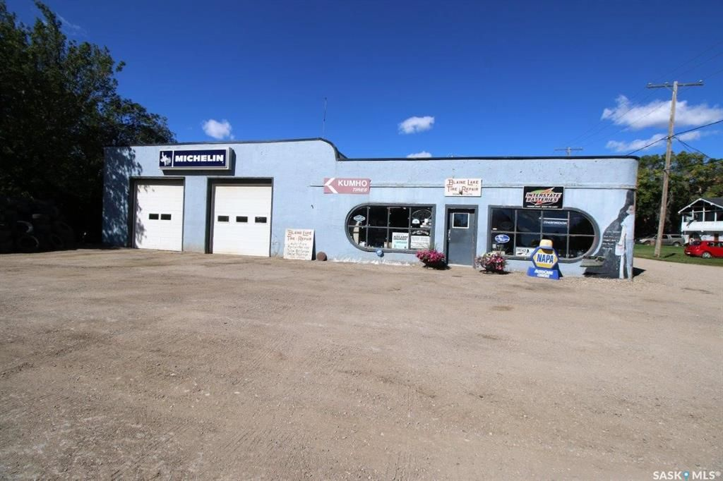 Main Photo: 102 1st Avenue West in Blaine Lake: Commercial for sale : MLS®# SK870339