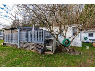 "Photo 32: 83 43201 LOUGHEED Highway in Mission: Dewdney Deroche Manufactured Home for sale in ""Nicomen Village"" : MLS®# R2529405"