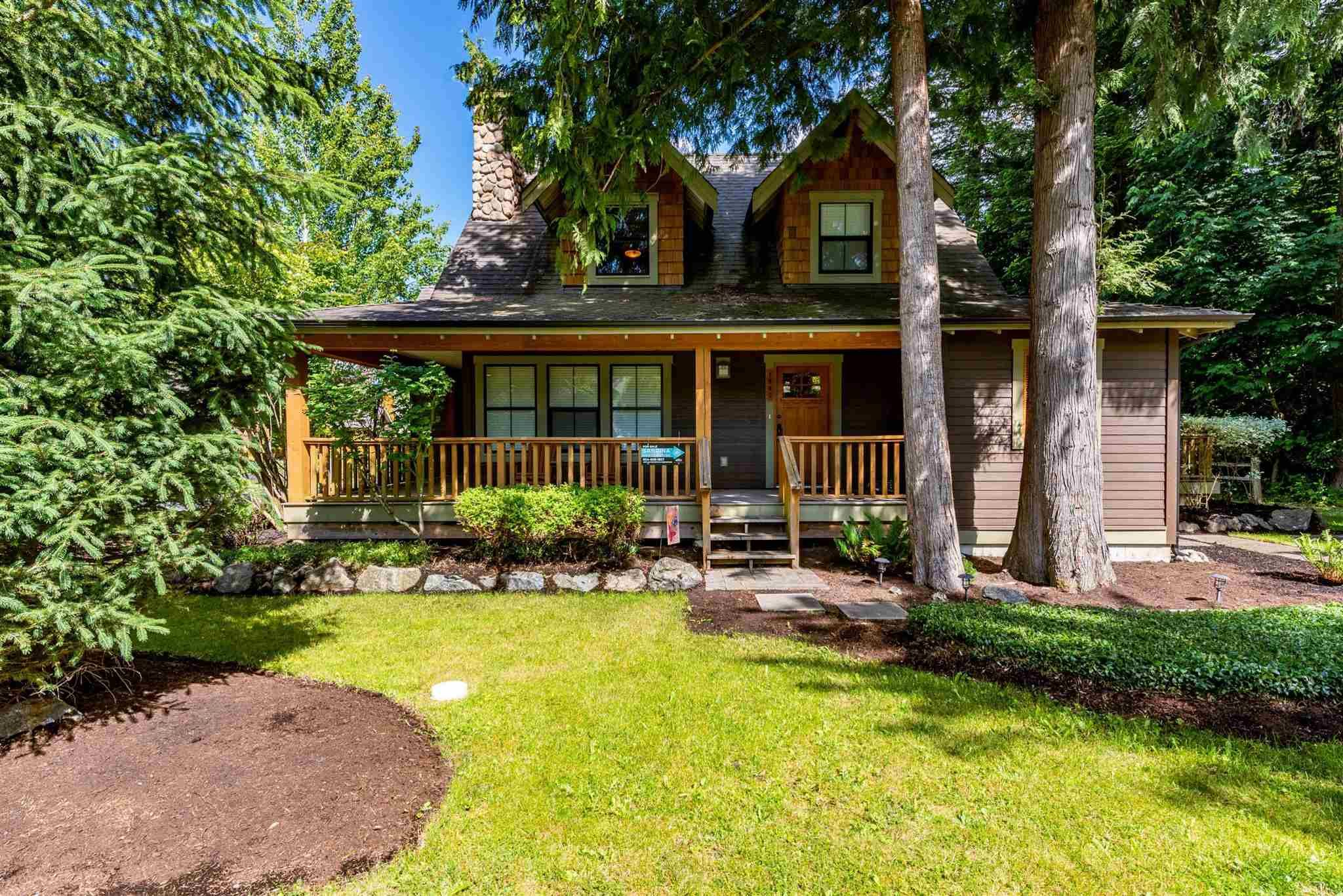 """Main Photo: 1842 MOSSY GREEN Way: Lindell Beach House for sale in """"THE COTTAGES AT CULTUS LAKE"""" (Cultus Lake)  : MLS®# R2593904"""