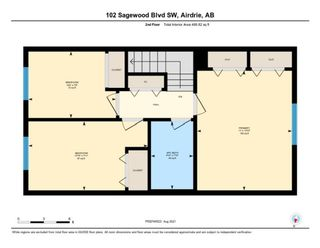Photo 30: 102 140 Sagewood Boulevard SW: Airdrie Row/Townhouse for sale : MLS®# A1141135