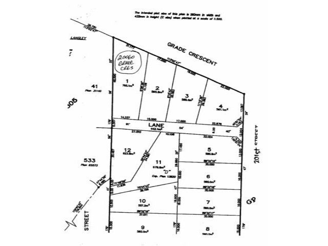 Main Photo: 20060 GRADE Crest in Langley: Langley City Land for sale : MLS®# F1229025