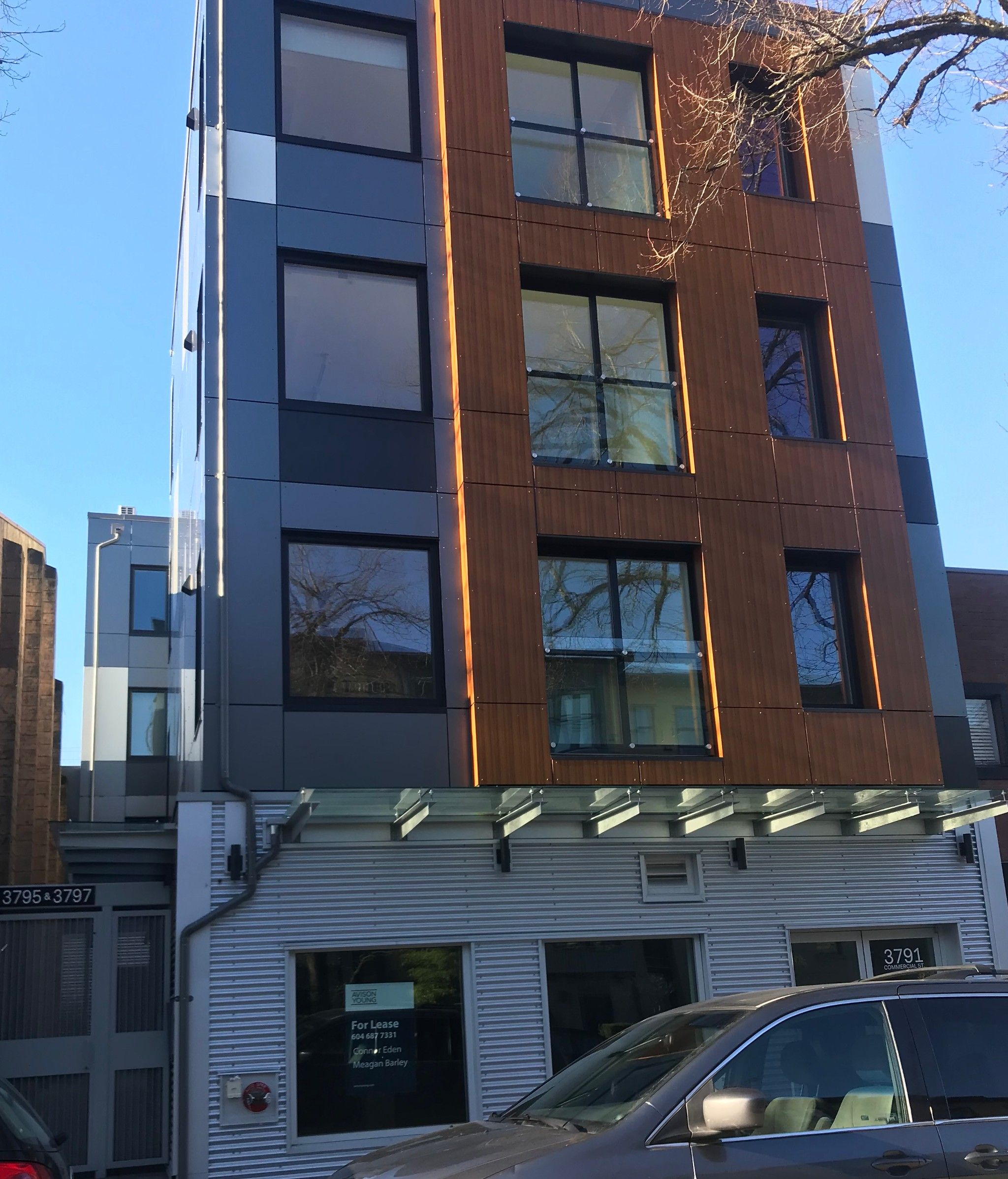 Main Photo: 102 3795 Commercial Street in Vancouver: Office for lease (Vancouver East)