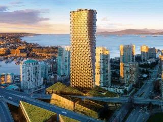 Photo 2: 3603 1480 HOWE Street in Vancouver: Yaletown Condo for sale (Vancouver West)  : MLS®# R2250106