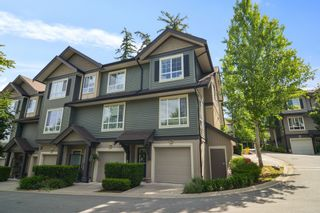 """Photo 1: 42 4967 220 Street in Langley: Murrayville Townhouse for sale in """"Winchester Estates"""" : MLS®# R2592312"""