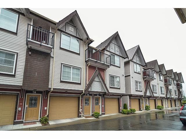 """Main Photo: 80 9405 121ST Street in Surrey: Queen Mary Park Surrey Townhouse for sale in """"REDLEAF CRESCENT"""" : MLS®# F1415077"""