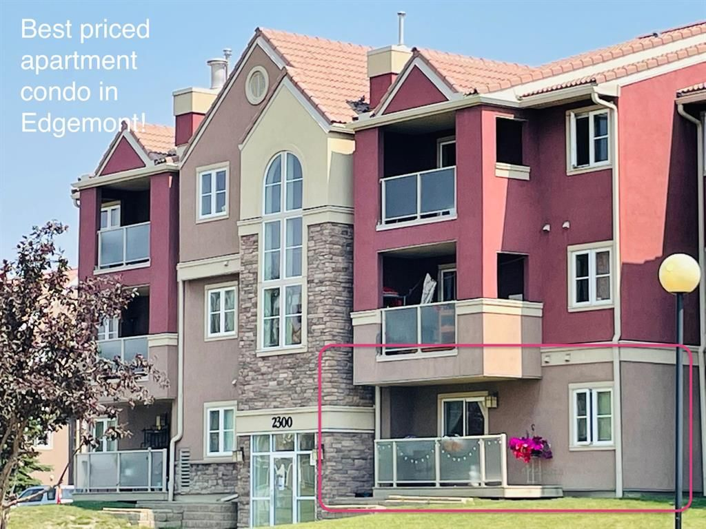 Main Photo: 14 2314 Edenwold Heights NW in Calgary: Edgemont Apartment for sale : MLS®# A1132742