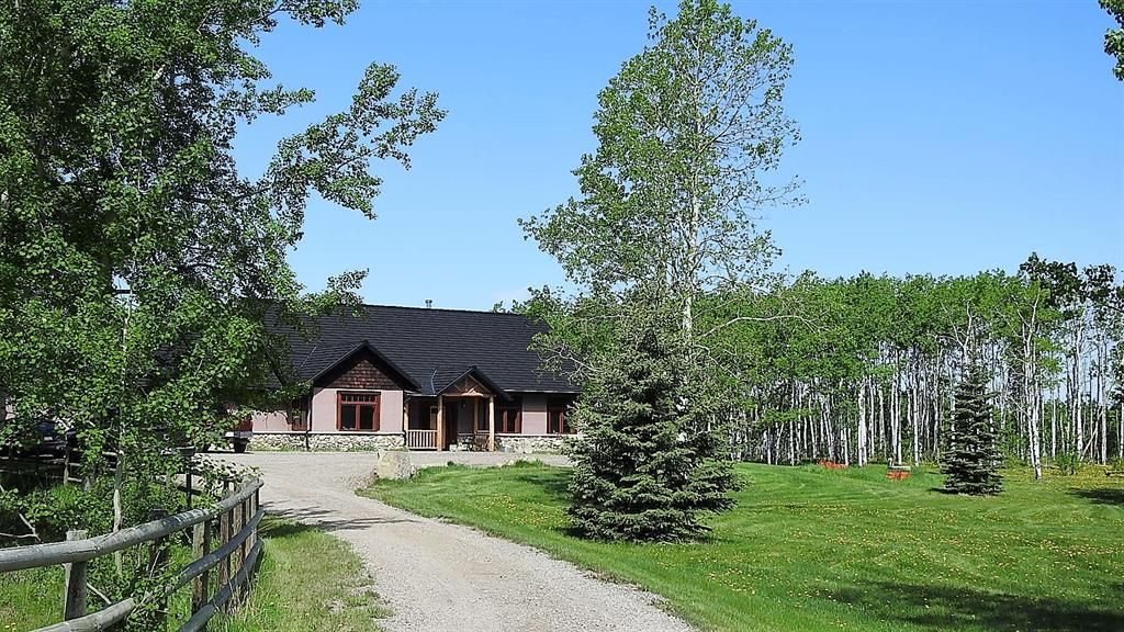 Main Photo: 434107 176 Street W: Rural Foothills County Detached for sale : MLS®# A1116664