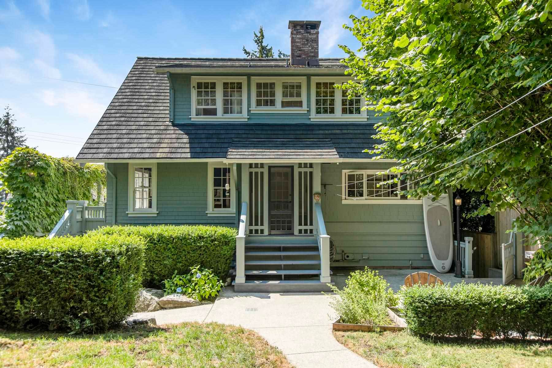 Main Photo: 3321 RADCLIFFE Avenue in West Vancouver: West Bay House for sale : MLS®# R2617607