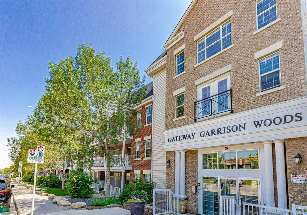 Main Photo: 340 2233 34 Avenue SW in Calgary: Garrison Woods Apartment for sale : MLS®# A1129105