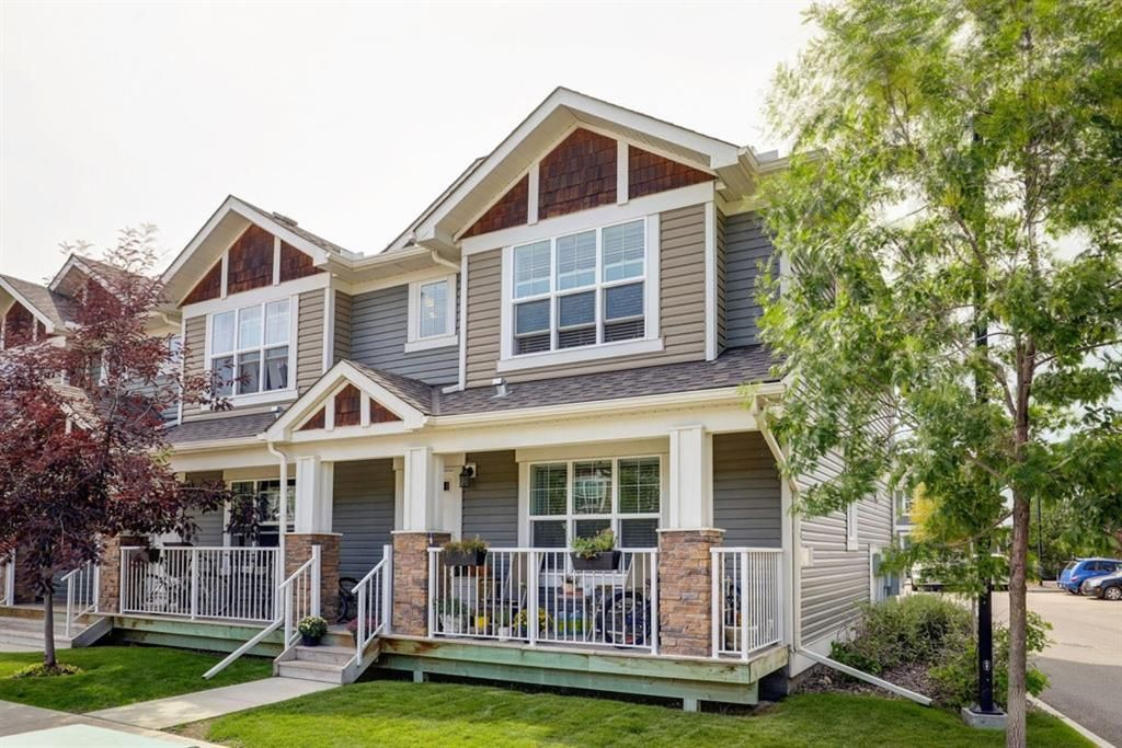 Main Photo: 203 CRANBERRY Park SE in Calgary: Cranston Row/Townhouse for sale : MLS®# A1063475