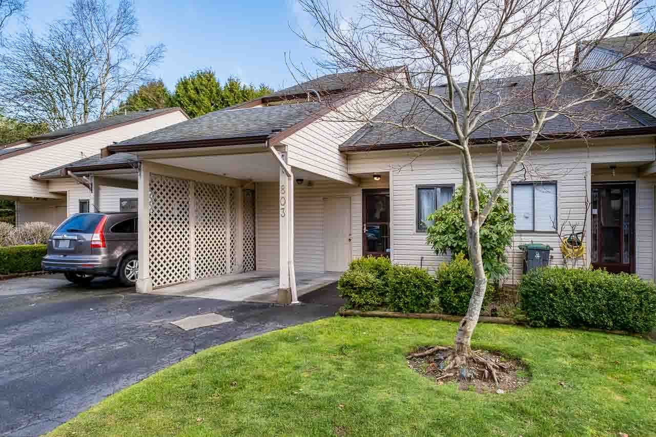 """Photo 2: Photos: 803 9274 122 Street in Surrey: Queen Mary Park Surrey Townhouse for sale in """"WHISPERING CEDARS"""" : MLS®# R2530647"""