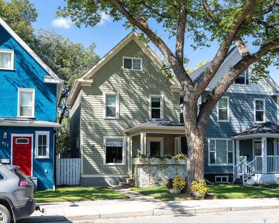 Main Photo: 913 Seventh Avenue North in Saskatoon: City Park Residential for sale : MLS®# SK867991