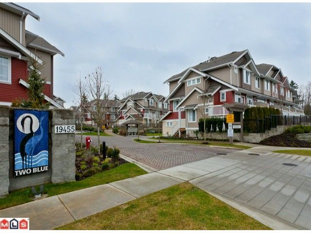 "Main Photo: 51 19455 65TH Avenue in Surrey: Clayton Townhouse for sale in ""Two Blue"" (Cloverdale)  : MLS®# F1203766"