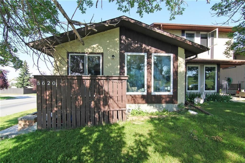 Main Photo: 8620 Berwick Road NW in Calgary: Beddington Heights Semi Detached for sale : MLS®# A1116214