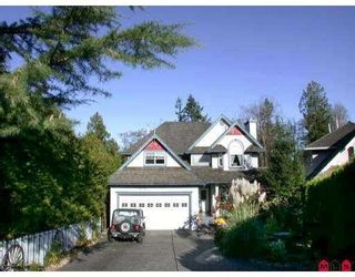 "Photo 1: 21011 46TH Avenue in Langley: Brookswood Langley House for sale in ""CEDAR RIDGE"" : MLS®# F2909171"