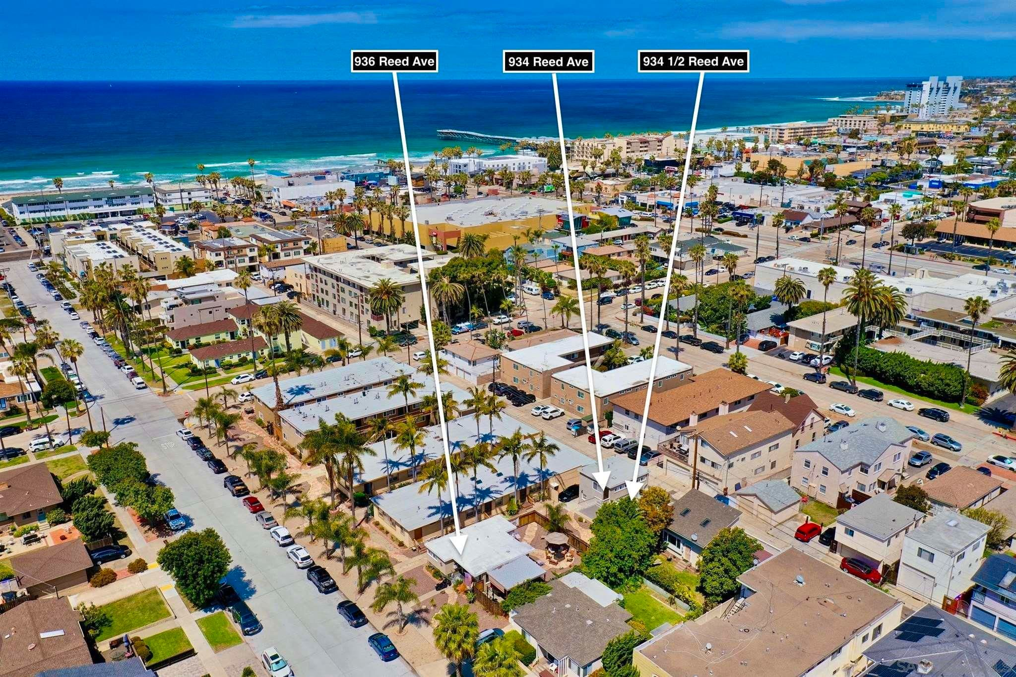 Main Photo: PACIFIC BEACH Property for sale: 934-36 Reed Ave in San Diego
