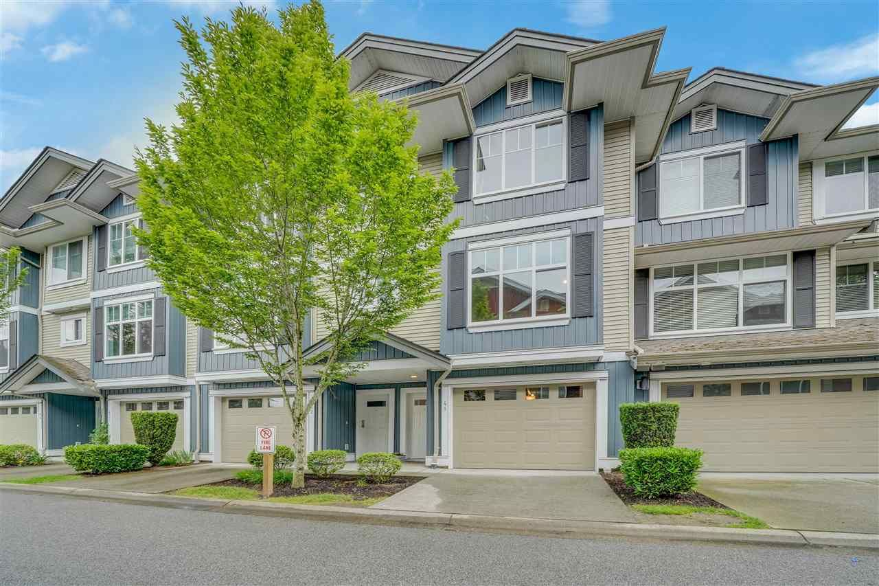 """Main Photo: 41 6956 193 Street in Surrey: Clayton Townhouse for sale in """"EDGE"""" (Cloverdale)  : MLS®# R2592785"""