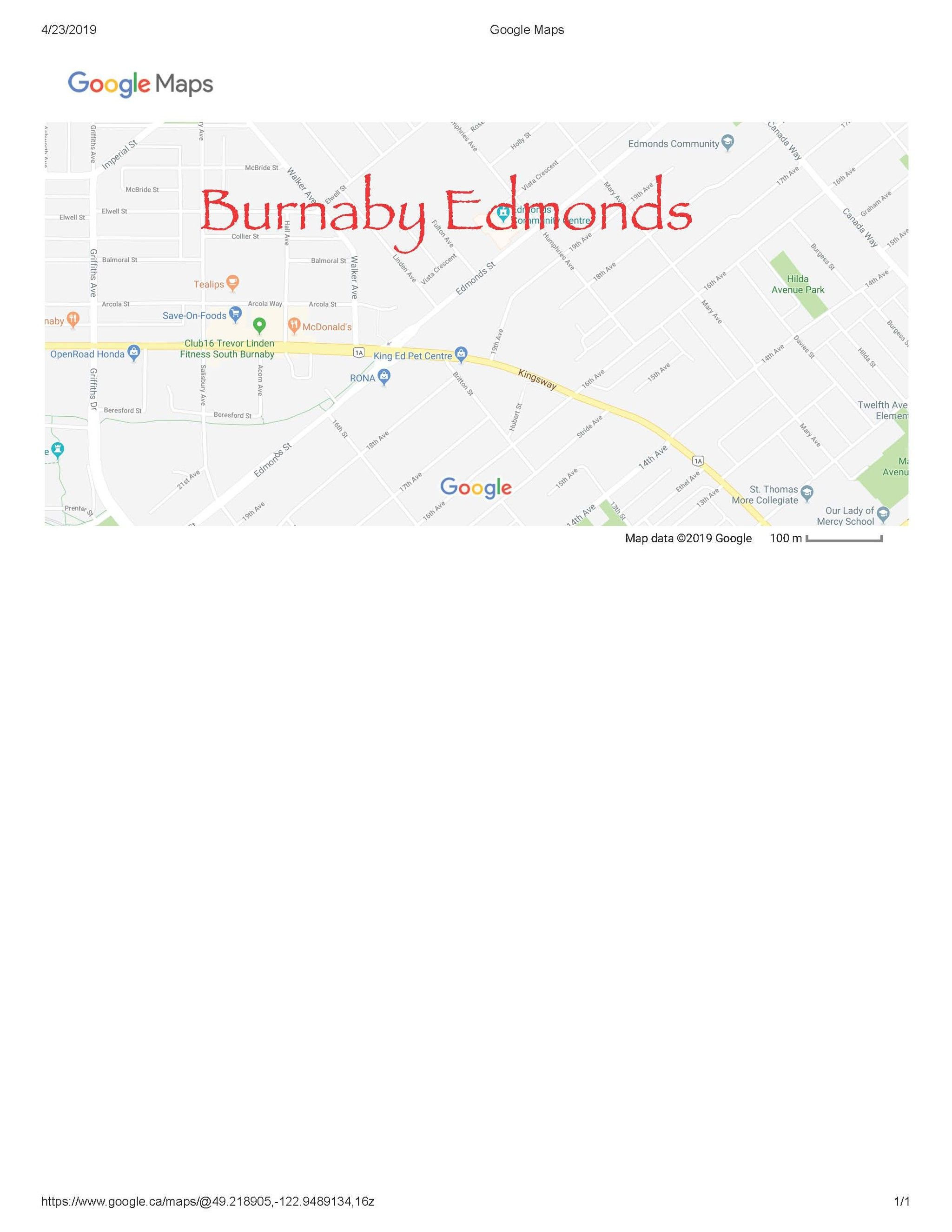 Main Photo:  in Burnaby: Highgate Land Commercial for sale (Burnaby South)