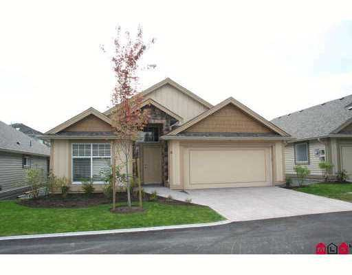"""Main Photo: 4 3348 MT LEHMAN Road in Abbotsford: Bradner Townhouse for sale in """"EDEN COURT"""" : MLS®# F2724857"""