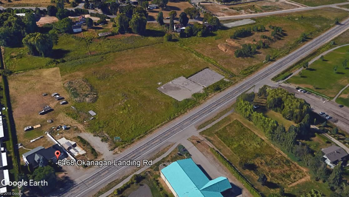 Main Photo: 6468 Okanagan Landing Road in Vernon: Okanagan Landing Vacant Land for sale (North Okanagan)  : MLS®# 10131754