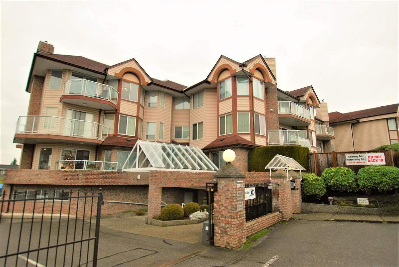 """Main Photo: 208 32669 GEORGE FERGUSON Way in Abbotsford: Abbotsford West Condo for sale in """"Cantebury Gate"""" : MLS®# R2575285"""